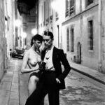 Rue Aubriot, Yves Saint Laurent - fot. H.Newton - Paris 1975