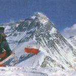 Alek Lwow na szczycie Pumori -12.11.1990